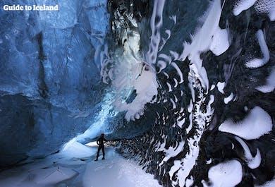 Paquete de 4 días en invierno   Cueva de hielo, Jökulsárlón, Auroras boreales y Costa Sur