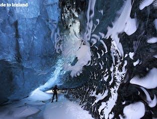 W trakcie naszego 4-dniowego pakietu pojedziesz do niesamowitej jaskini lodowej w Vatnajokull.