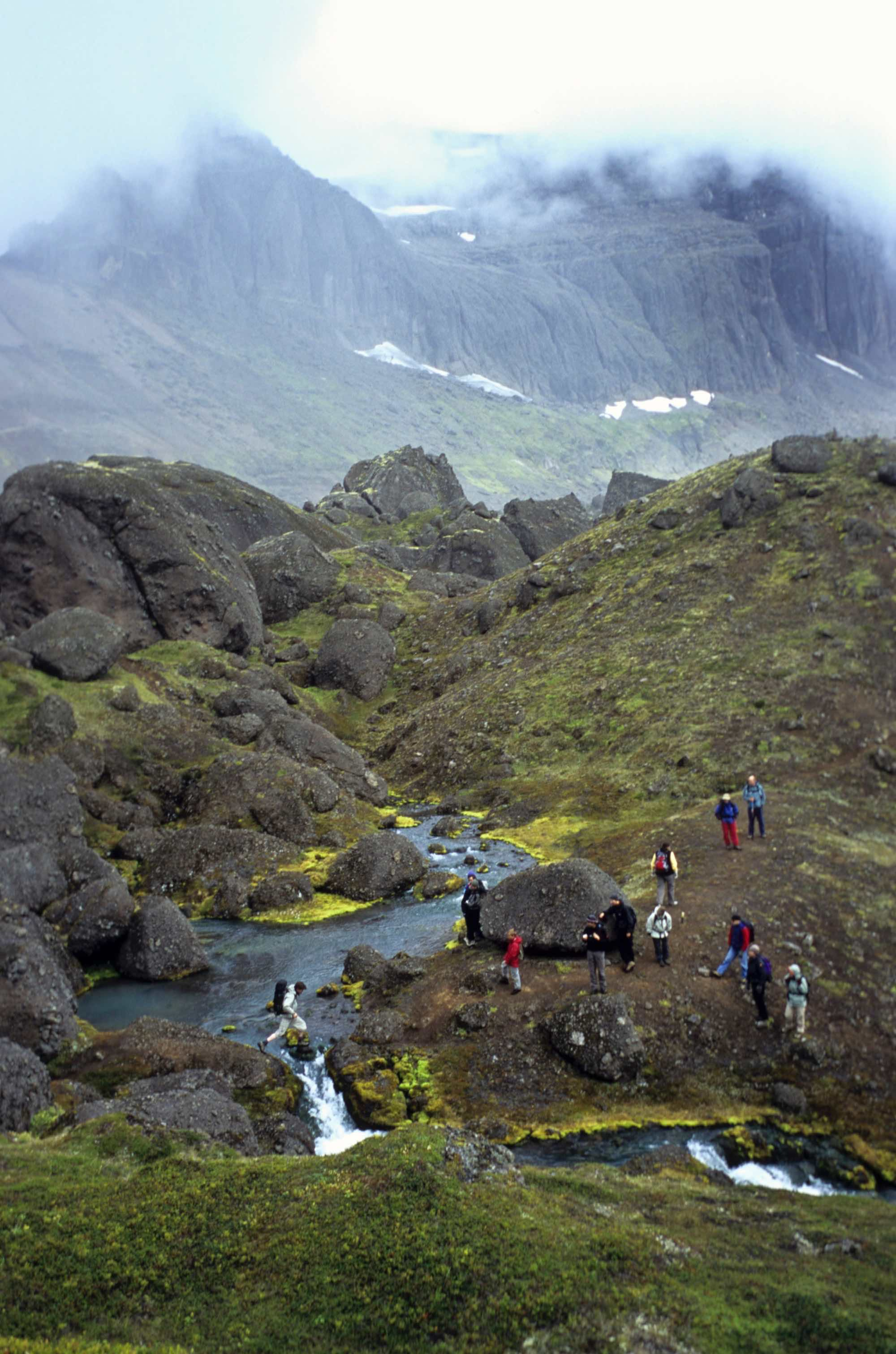 East Iceland in summer is full of mystical landscapes in summer.