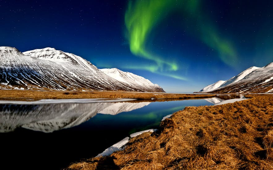 Best time to visit Iceland for the aurora borealis