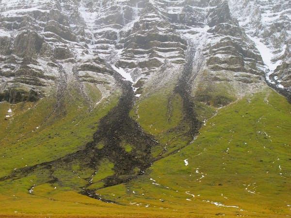 Fjallabak - behind the mountain