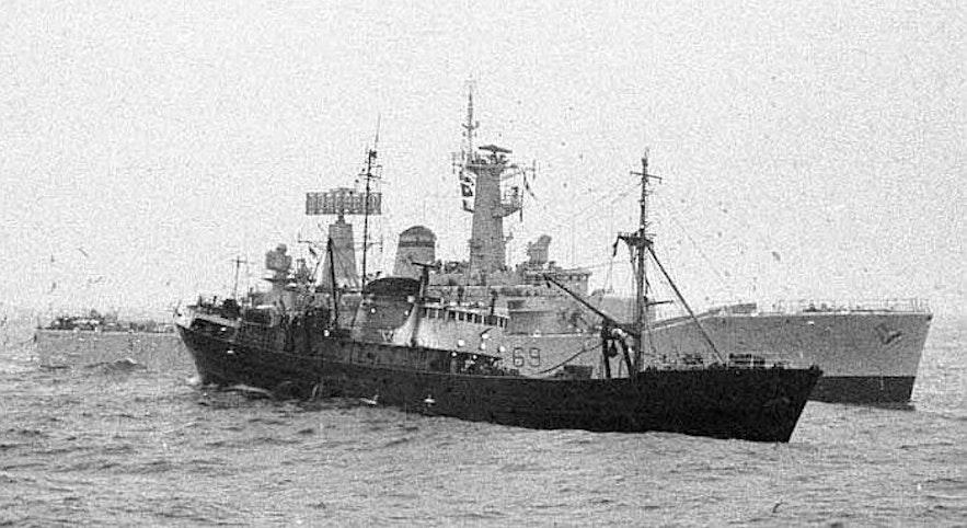 冰島鱈魚戰爭