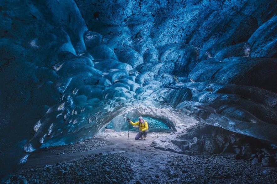 冰島藍冰洞