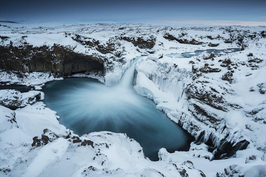 Aldeyarfoss in North Iceland
