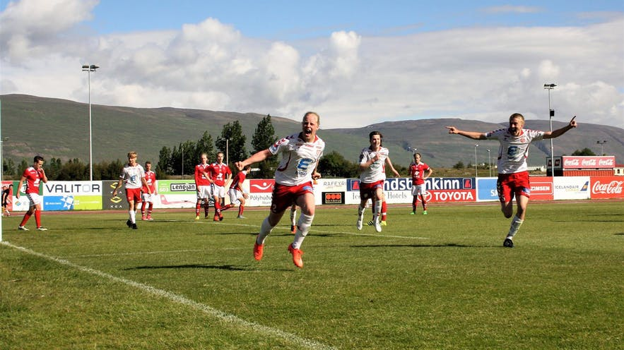 The Icelandic football league is the perfect training ground for future star players, with many having graduated from the grassroots football scheme.