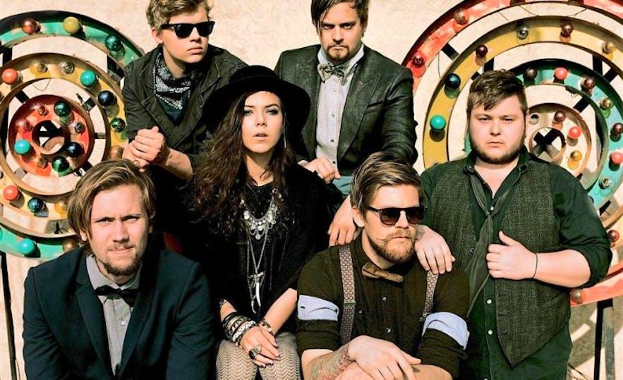 Of Monsters and Men est un groupe de musique connu en Islande