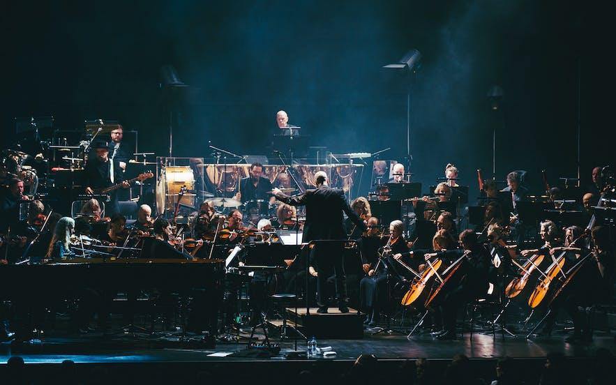 冰岛雷克雅未克Harpa歌剧院交响乐演出