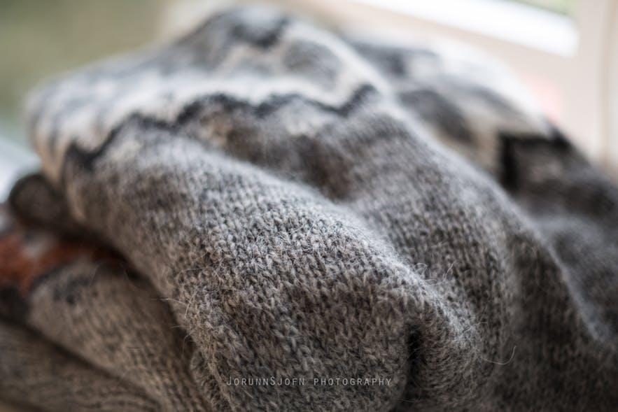 The lopapeysa, or Icelandic Sweater, is a national symbol. Photo by Jorunn Sjofn Gudlaugsdóttir