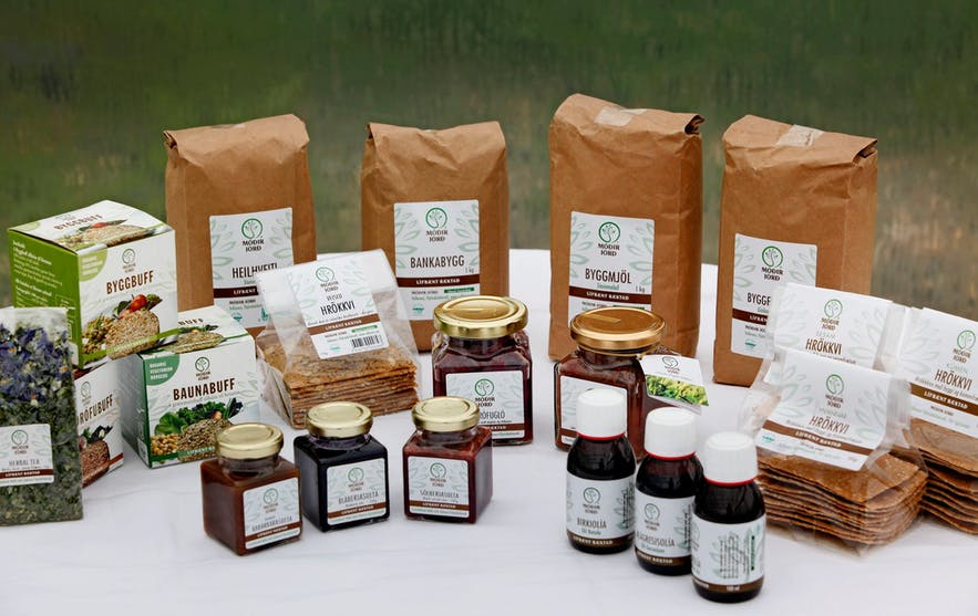 Some of the products created at Vallanes Farm.