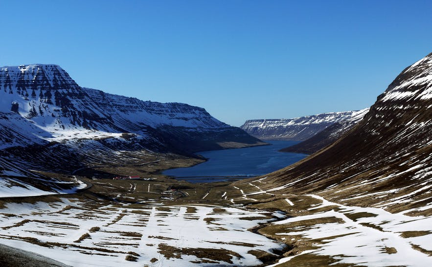 The Westfjords are vast and remote.