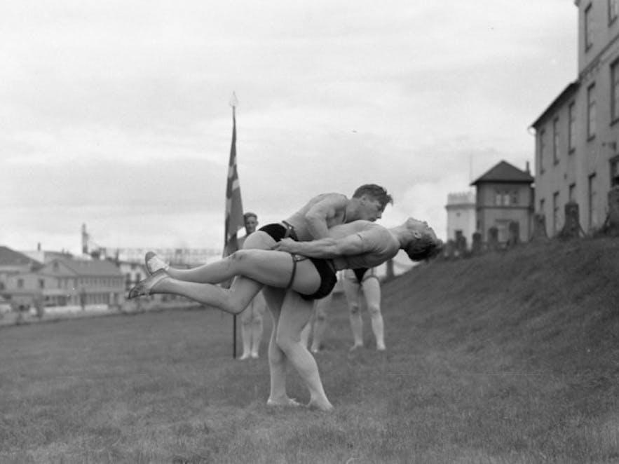 The Glíma, an Icelandic form of wrestling.