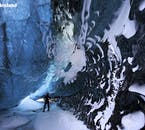 The size of many of South Iceland's ice caves is astonishing.