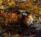 Hidden underground worlds of stunning beauty are found under Iceland's lava fields.