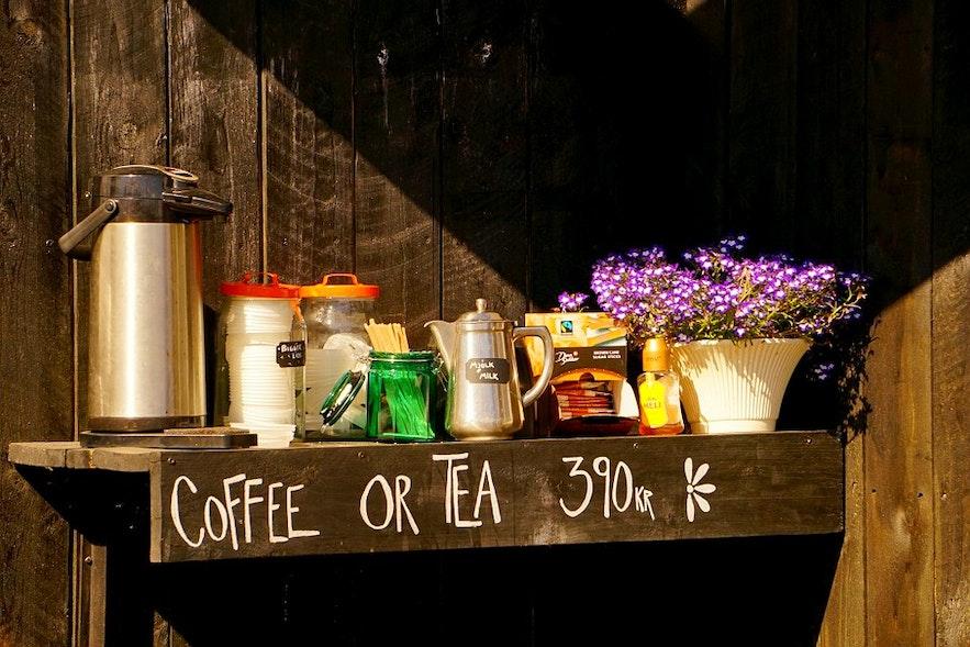 Isländer sind leidenschaftlich, wenn es um ihren Kaffee geht - und äußerst stolz auf ihr Röstverfahren.