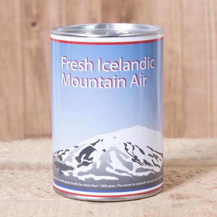 冰岛的空气纪念品