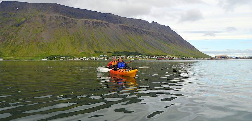 Calm Water Kayaking by Ísafjörður - the Kayaking Centre of