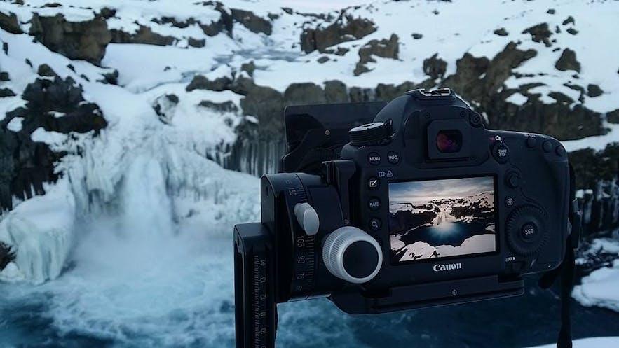 在冰岛摄影