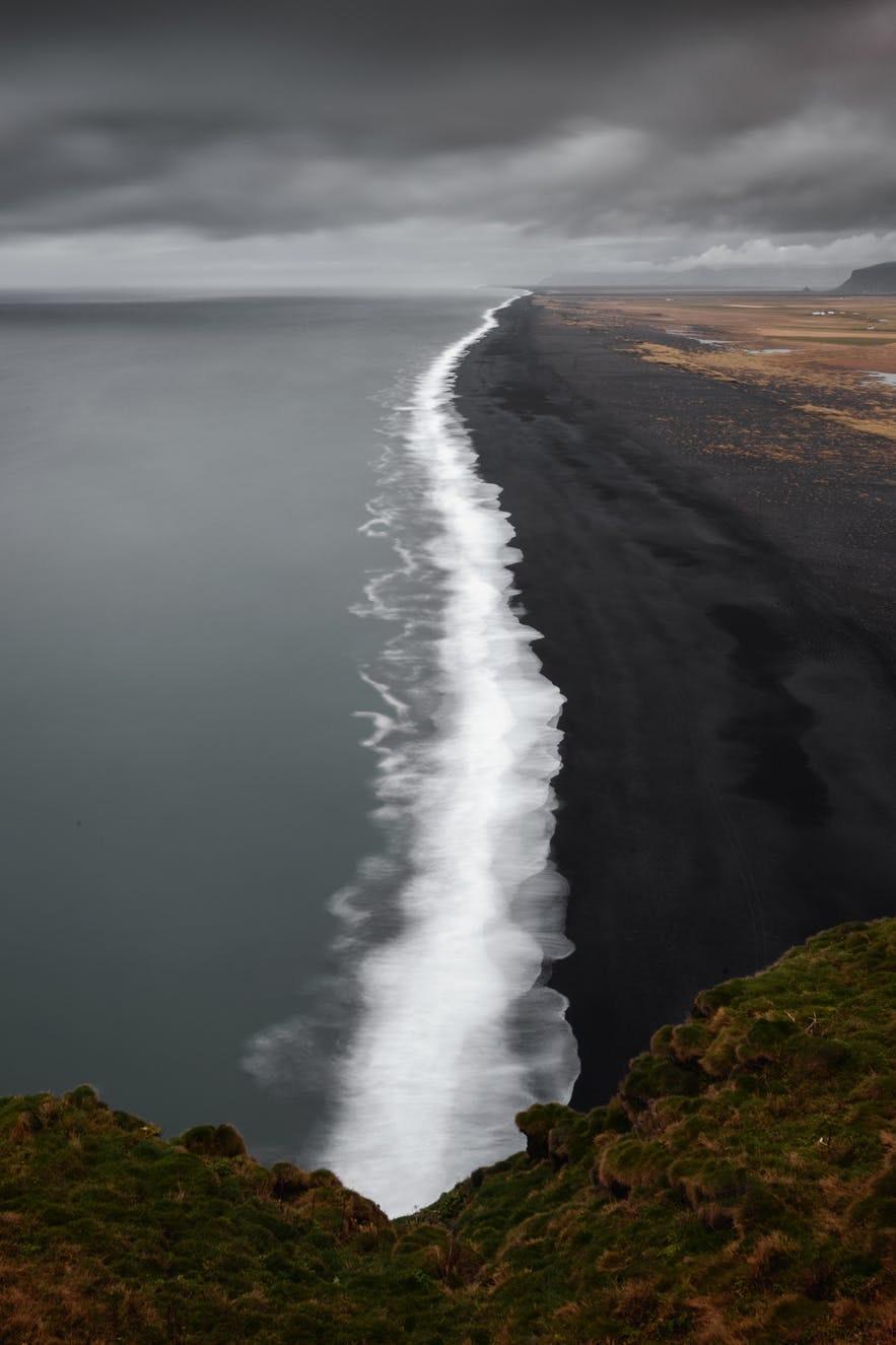 冰島Dyrhólaey俯瞰