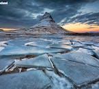 Mt. Kirkjufell (the Church Mountain) dressed in winter's attire.