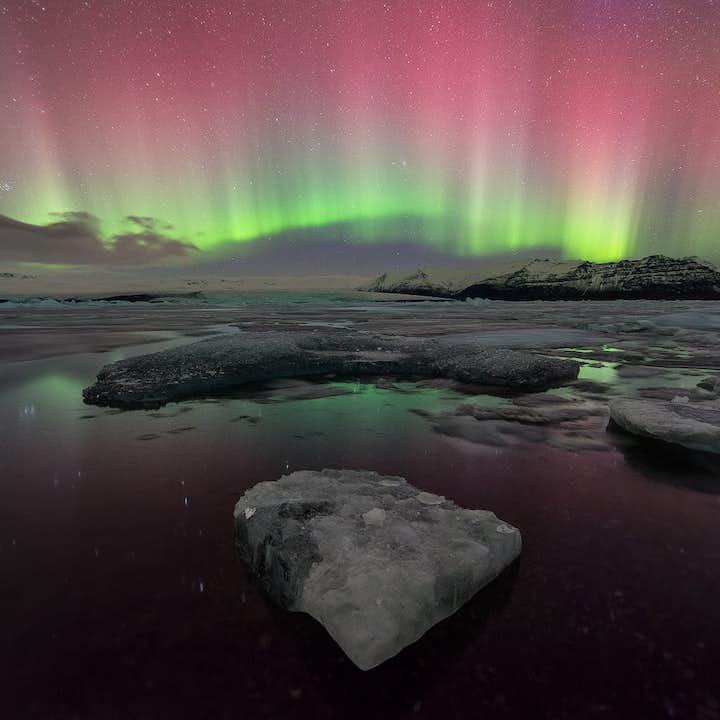 冰岛12天11夜冬季北极光旅行套餐|环岛全程住宿+冰川蓝冰洞+斯奈山半岛