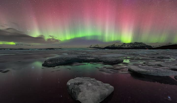 Jökulsárlón glacier lagoon is Iceland's deepest lake, measuring at 248 metres depth.
