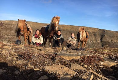 2-Day Horse Riding Tour | Geysers, Waterfalls & the Golden Circle