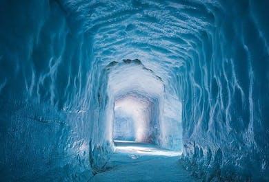 セットでお得!ゴールデンサークル、アイストンネル、火山の内部探検