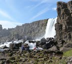 Visit Þingvellir National Park on a 2-day horse riding tour of the Golden Circle.