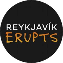 Reykjavik erupts logo