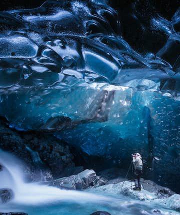 冰島 藍冰洞