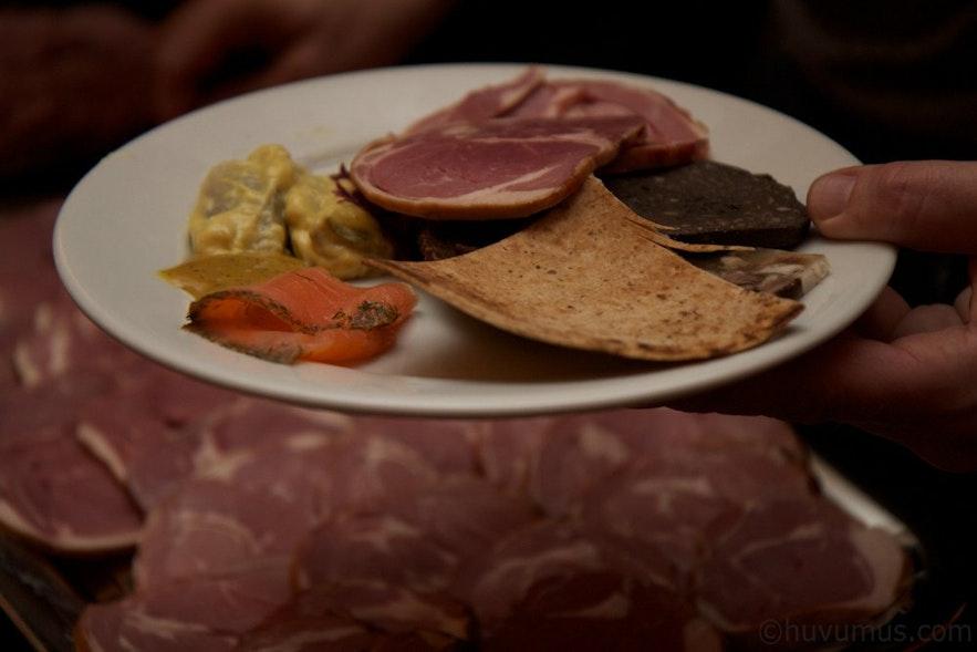 冰岛þorrablót传统食物