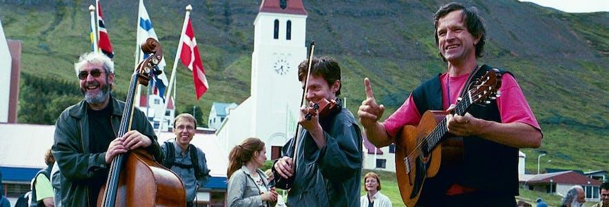 冰岛民歌节