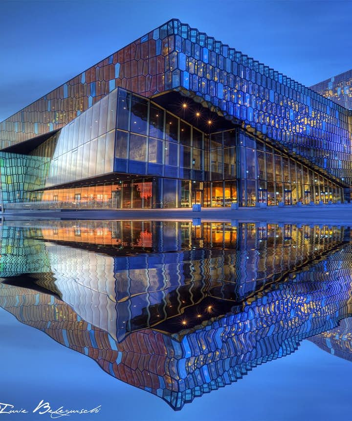 Although often solely credited to Ólafur Elíasson, the structure and appearance of Harpa wouldn't have been possible without Einar Þorsteinn Ásgeirsson