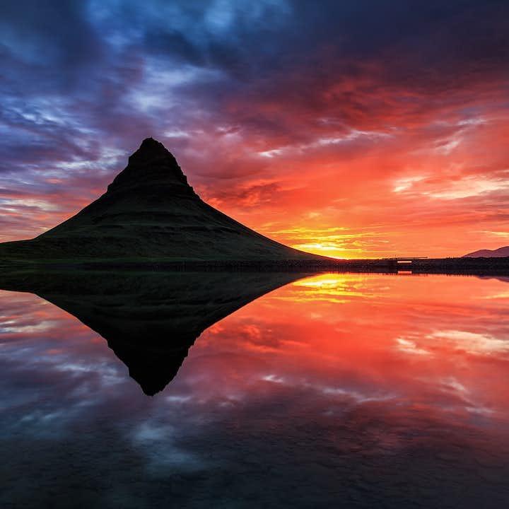 冰岛夏季旅行团优惠套票|斯奈山一日游+南岸杰古沙龙两日游+黄金圈一日游