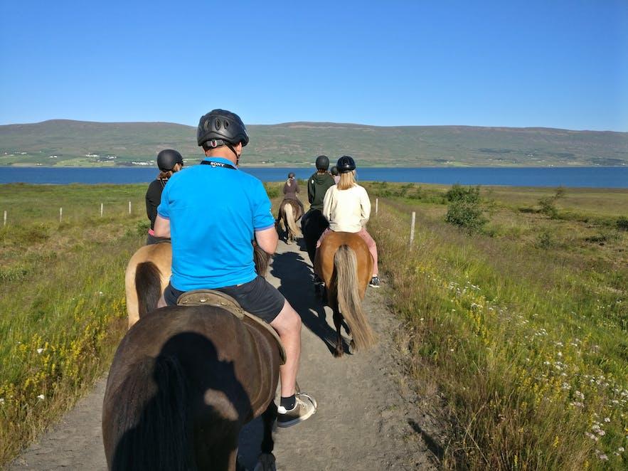 アークレイリでの乗馬ツアー