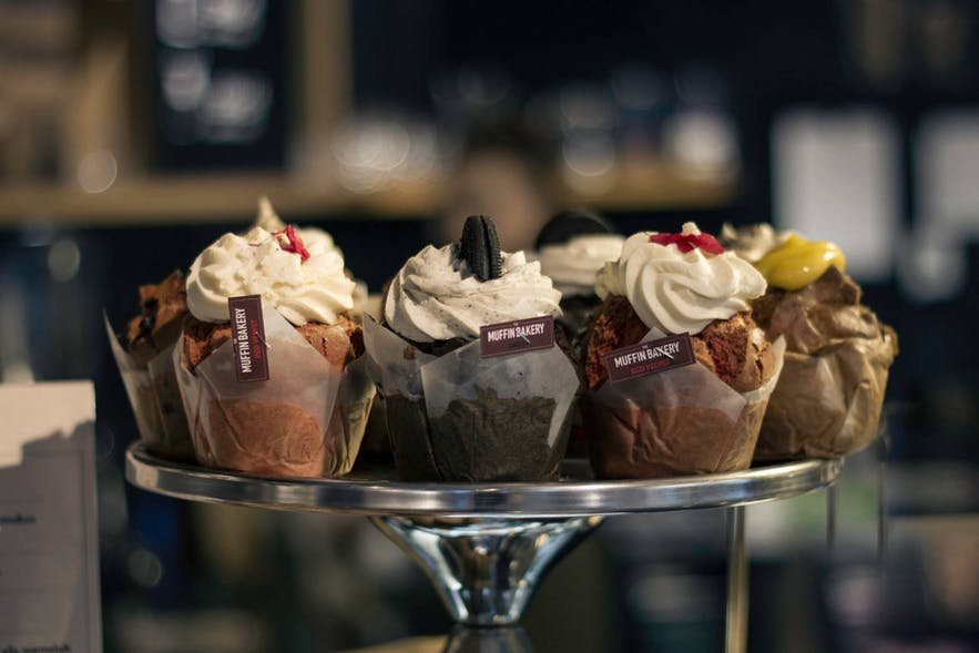 The Muffin Bakery is only a small part of what makes Te and Kaffi a wonderful stop for a visit.