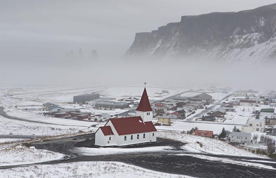 冰島冬季Vik