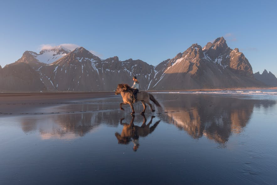 冰島Vastarhorn山