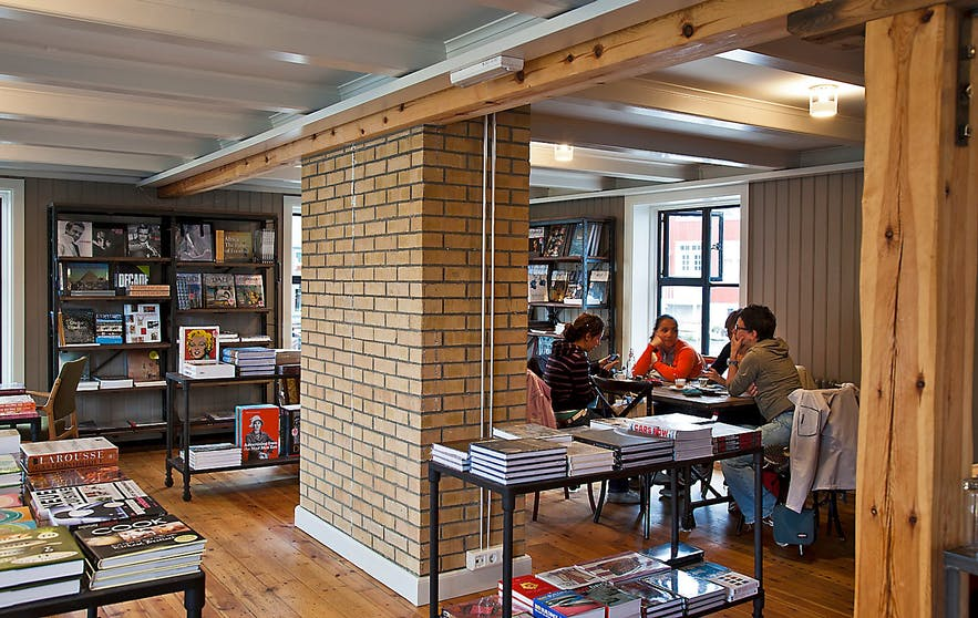 Iða Zimsen is one part book shop, one part cafe, perfect for a lazy Sunday afternoon.