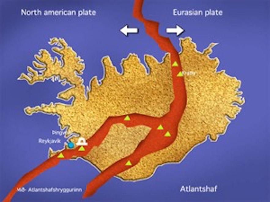冰島地殼運動