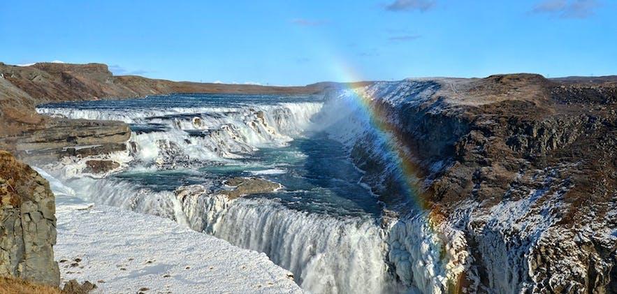 冰島金圈黃金瀑布Gullfoss