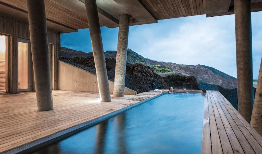 冰島金圈ION Hotel游泳池