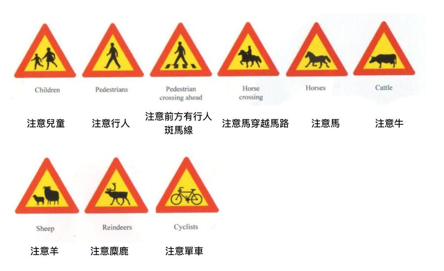冰島自駕 交通指示牌三