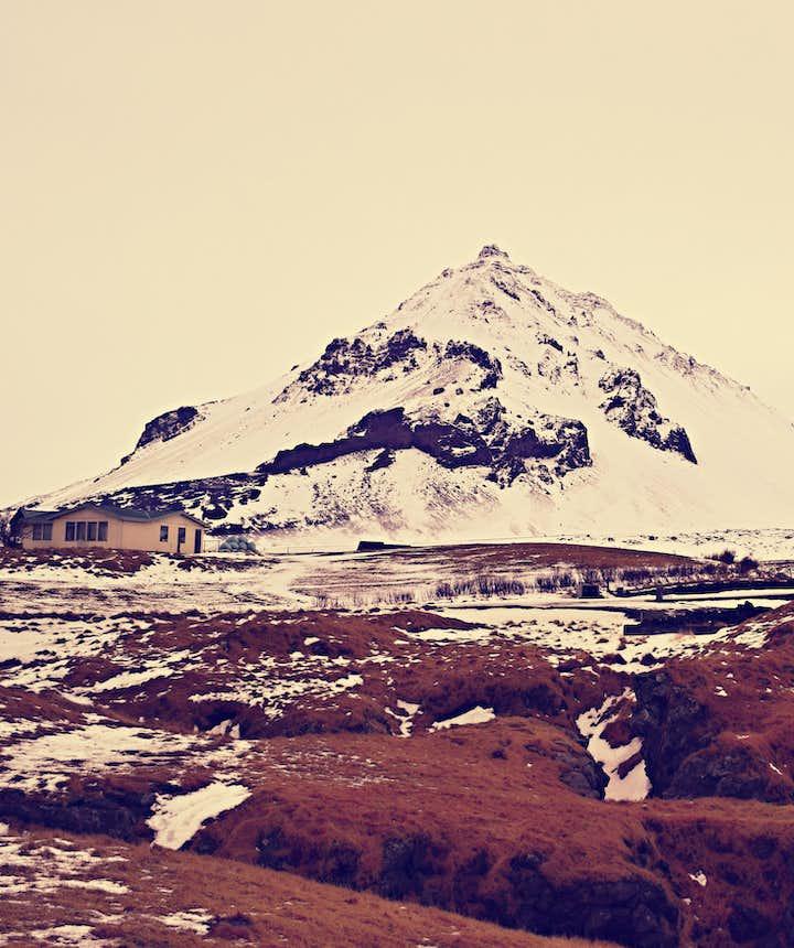 Kirkjufell in the Snaefellsnes Peninsula