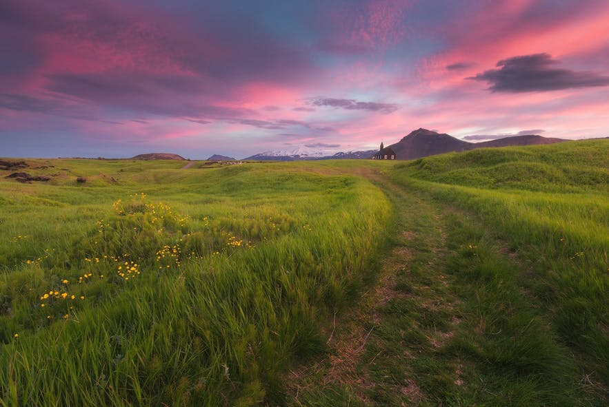 The Snæfellsnes National Park is one of three National Parks it is forbidden to camp in.