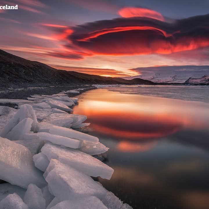 8-дневный зимний пакетный тур   Кольцевая дорога Исландии в маленькой группе