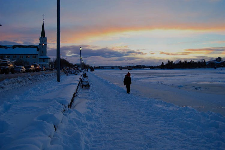 Visit Reykjavík in the winter time and immerse yourself in a wonderland of snow and ice.