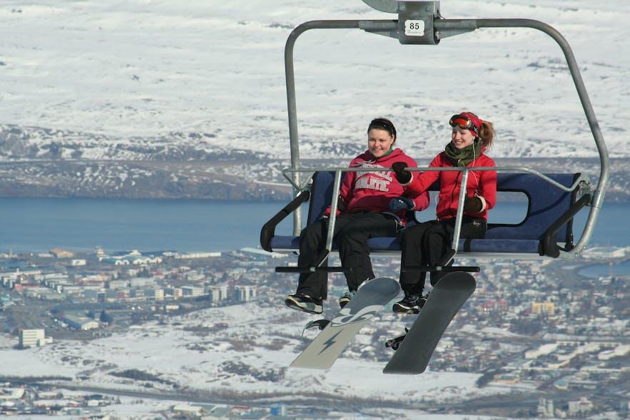 冰岛2月 - 冰岛滑雪