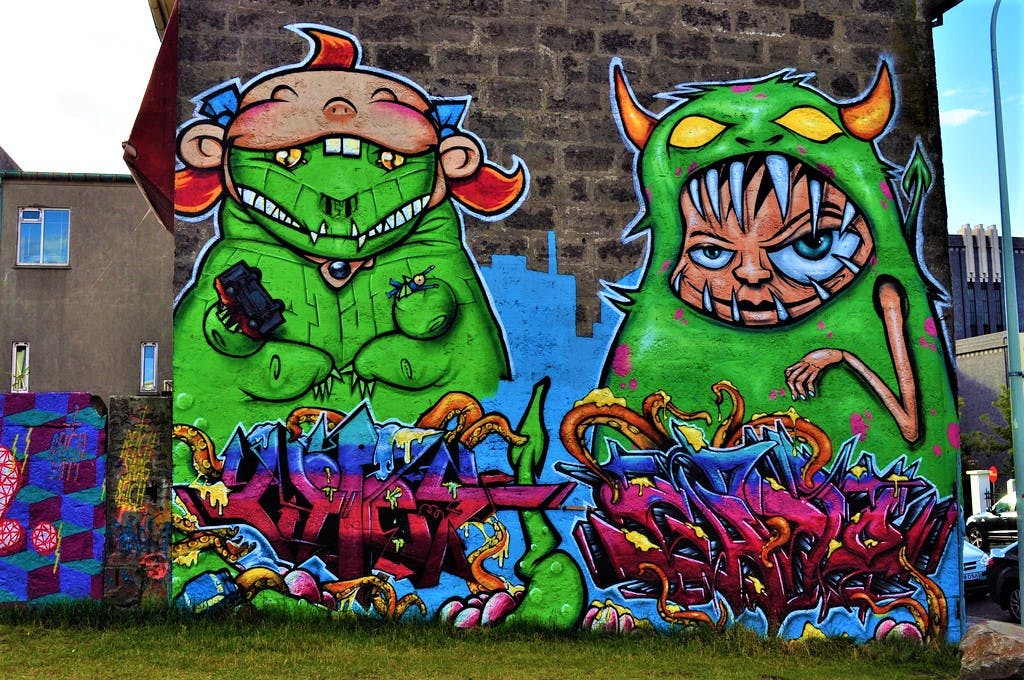 Graffiti and Street Art in Reykjavk Guide to Iceland