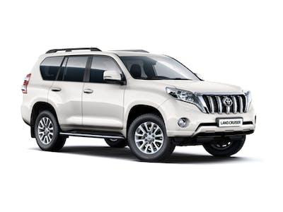 Toyota Land Cruiser 4x4 Automatic (Free GPS) 2017